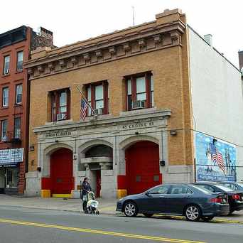 Photo of Port Morris Fire Station in South Bronx, New York