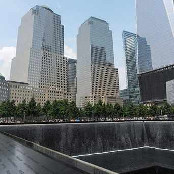 Photo of National September 11 Memorial in Financial District, New York