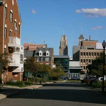 Photo of Street View of University Heights in Newark Central Business District, Newark