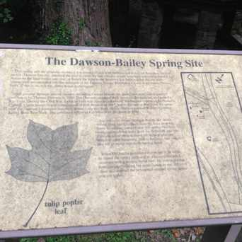 Photo of The Dawson-Bailey Spring Site in North Highland, Arlington