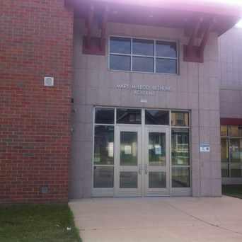 Photo of Bethune Academy in Washington Park, Milwaukee