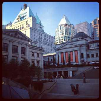 Photo of Robson Square in Vancouver
