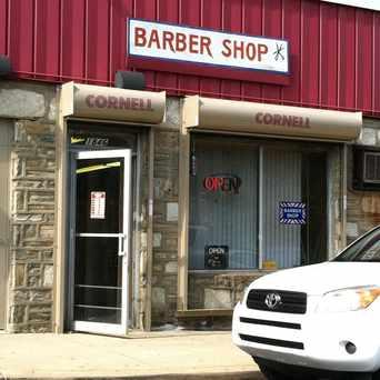 Photo of Cornell's Barber Shop in Rhawnhurst, Philadelphia