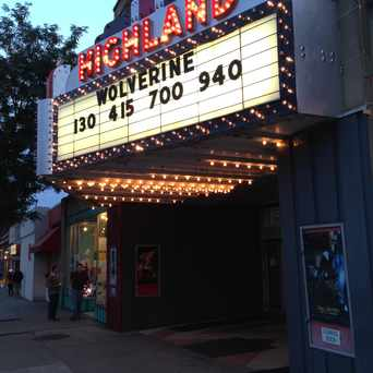 Photo of Highland Theatre in Highland Square, Akron