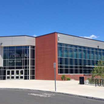 Photo of George Fowler High School in Syracuse