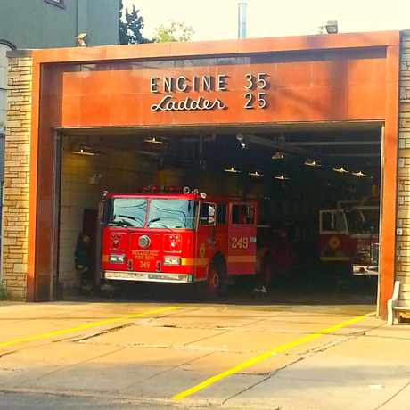Photo of Engine 35, Ladder 25, #eastfalls in East Falls, Philadelphia