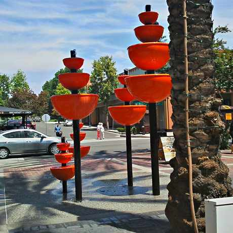 Photo of Unique Water Fountain in Brea