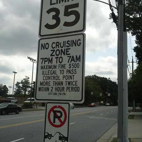 Photo of Noise and Cruising Limits in Buckhead Village, Atlanta