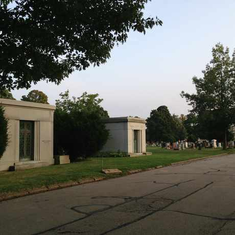 Photo of Mount Hope Cemetery in Highland, Rochester