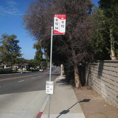 Photo of Public Transportation Stop in Alamitos Heights, Long Beach