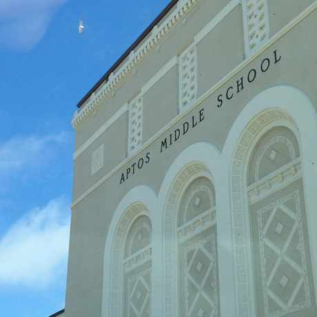 Photo of Aptos Middle School in Balboa Terrace, San Francisco