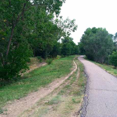 Photo of The Highline Canal Trail. in Goldsmith, Denver
