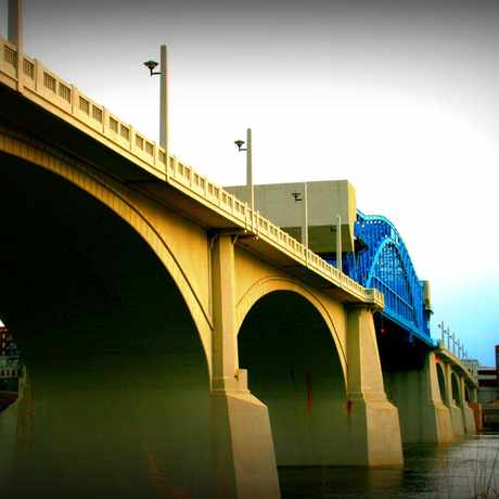 Photo of John Ross Bridge in Chattanooga