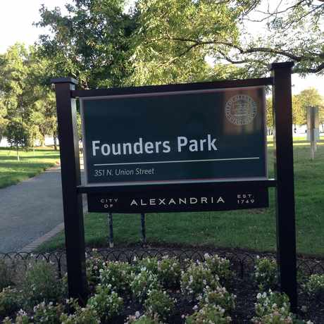 Photo of Founders Park, Alexandria VA in Alexandria