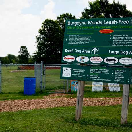 Photo of Burgoyne Woods Dog Park in St. Catharines