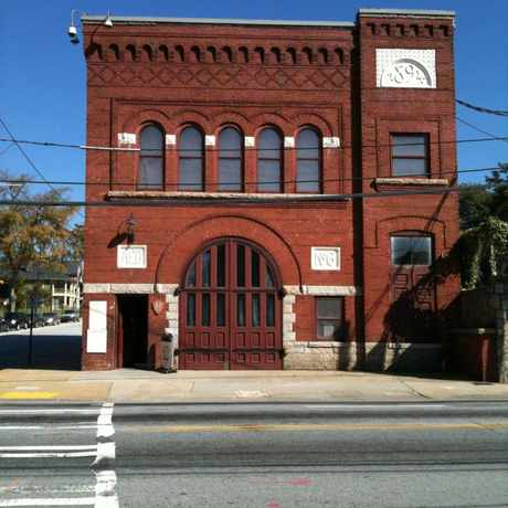 Photo of Historic Fire Station No. 6 in Old Fourth Ward, Atlanta