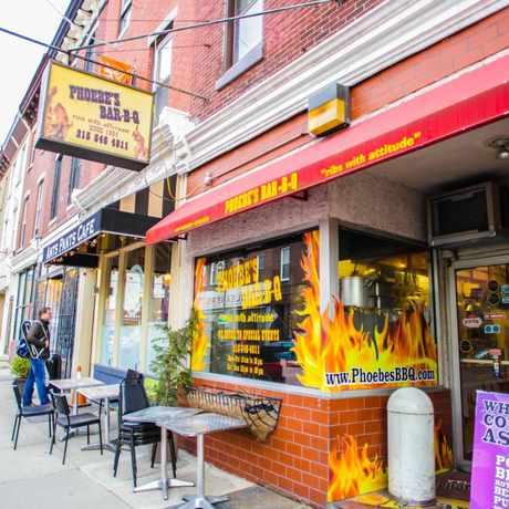 Photo of Phoebe's Bar-B-Q in Fitler Square, Philadelphia