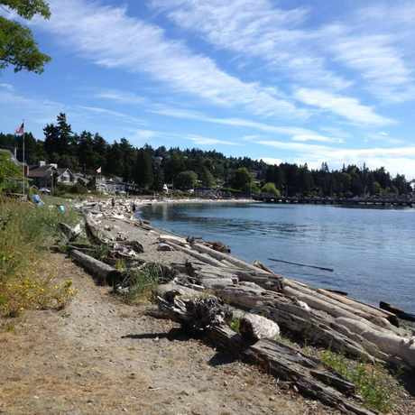 Photo of Discovery Park Beach in Lawton Park, Seattle