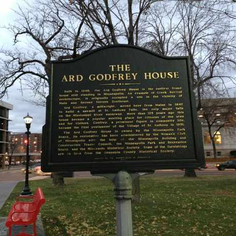 Photo of The Ard Godfrey House in Nicollet Island, Minneapolis