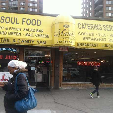 Photo of Mannas Soul Food Restaurant in Central Harlem, New York