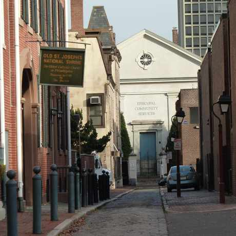 Photo of Willings Alley in Center City East, Philadelphia