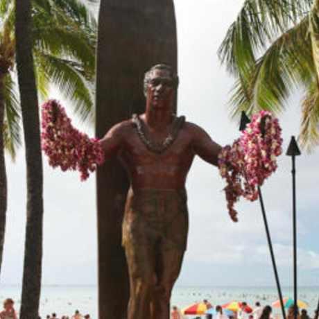 Photo of Waikiki Beach in Waikiki, Honolulu