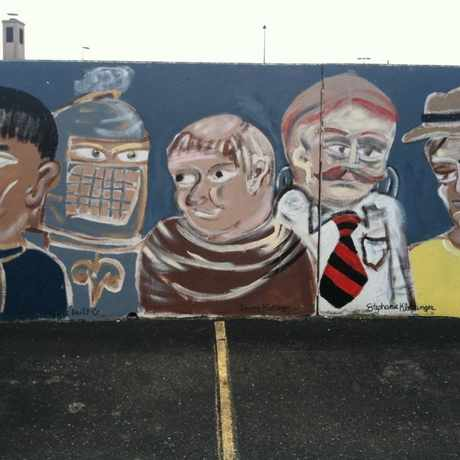Photo of Face wall -4 in Downtown, Akron
