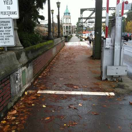 Photo of Montlake Narrow Shared Path in Montlake, Seattle