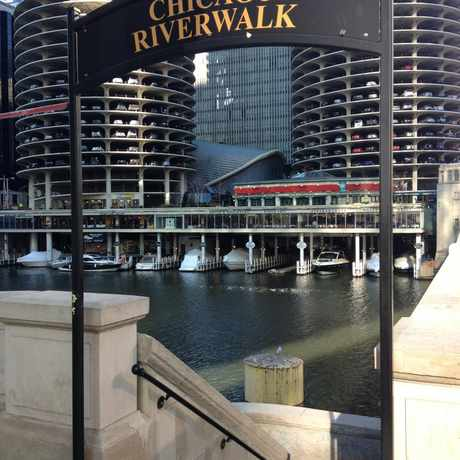 Photo of Chicago River Walk in The Loop, Chicago