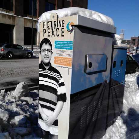 Photo of Tell It Electric Box in Downtown East, Minneapolis