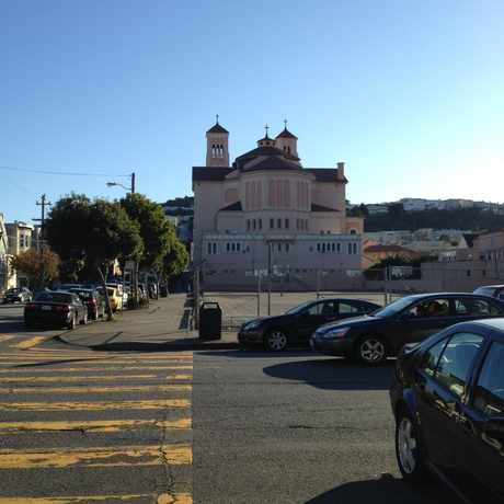 Photo of St Anne Elementary School in Inner Sunset, San Francisco
