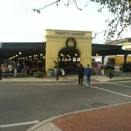 Photo of French Market in French Quarter, New Orleans