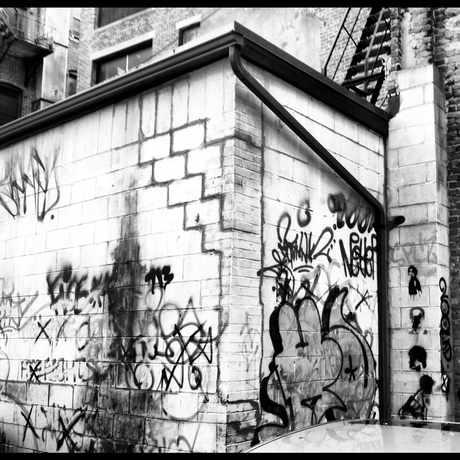 Photo of Chinatown streetart in Chinatown - Leather District, Boston