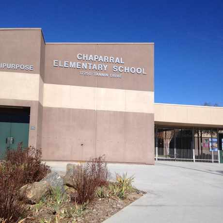 Photo of Chaparral Elementary School in Poway