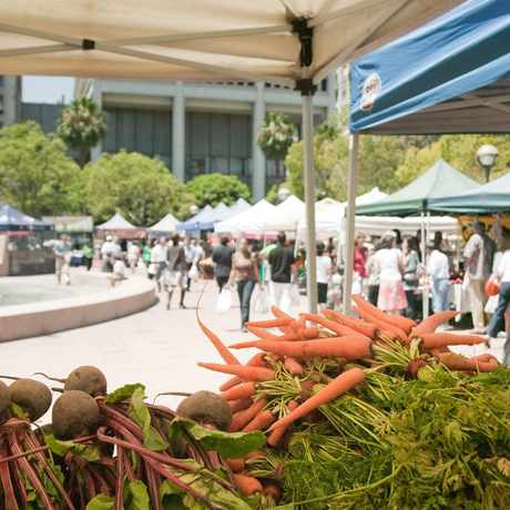 Photo of Pershing Square Farmers Market in Downtown, Los Angeles