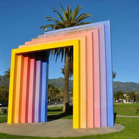 Photo of Rainbow Arch in Santa Barbara