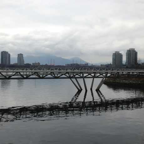 Photo of Olympic Village Canoe Bridge in Mount Pleasant, Vancouver