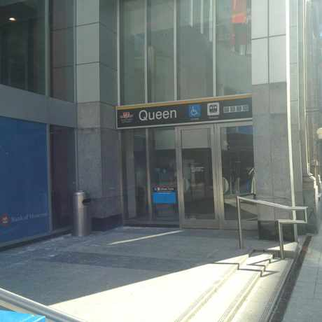 Photo of Queen Station in Bay Street Corridor, Toronto