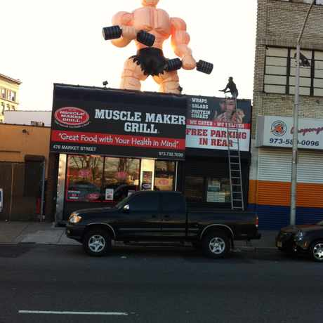 Photo of Muscle Maker Grill in North Ironbound, Newark