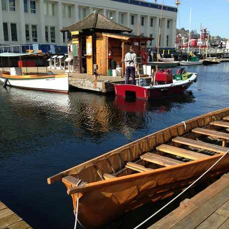 Photo of The Center for Wooden Boats in South Lake Union, Seattle