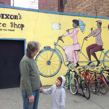 Photo of Dixon's Bicycle Shop in Park Slope, New York