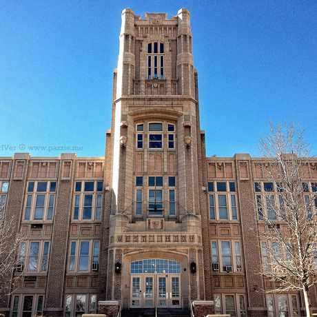 Photo of The New Denver West High School in Lincoln Park, Denver