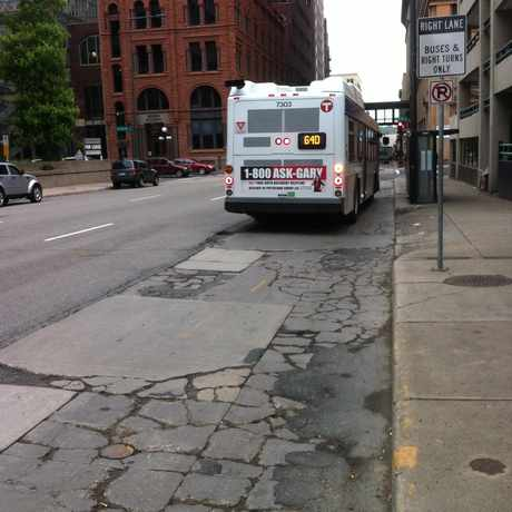 Photo of Bike Problem in Downtown, St. Paul