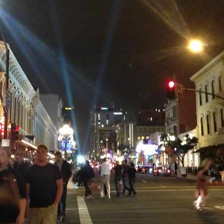 Photo of Intersection of Market Street and Fifth Avenue in Gaslamp, San Diego