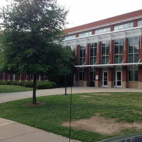 Photo of Grady High School in Midtown, Atlanta