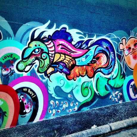 Photo of Street Art in Lower Queen Anne, Seattle