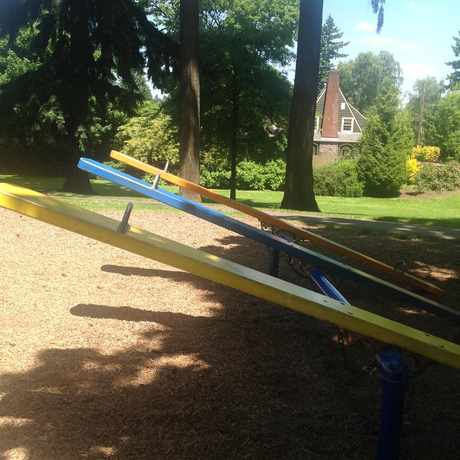 Photo of See Saws In The Park in Grant Park, Portland
