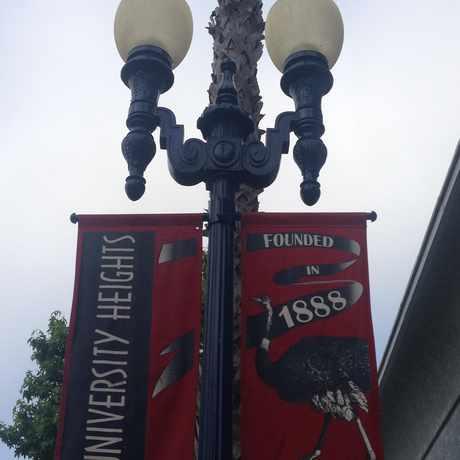 Photo of Adams Av & Park Bl in University Heights, San Diego