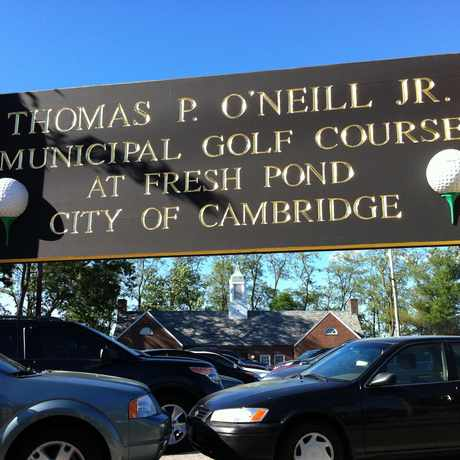 Photo of Thomas P. O'Neill Jr. Municipal Golf Course at Fresh Pond in Strawberry Hill, Cambridge