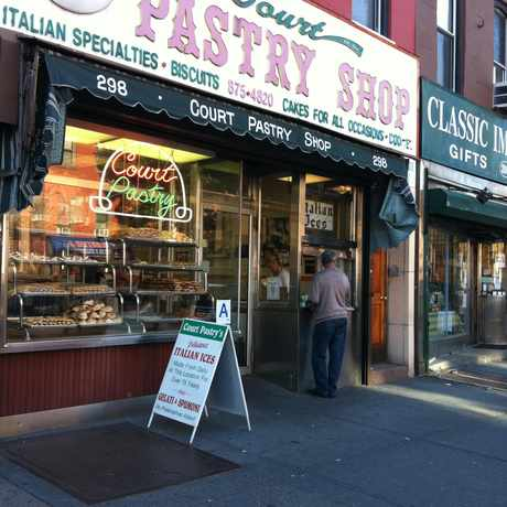 Photo of Court Pastry Shop in Cobble Hill, New York